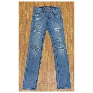 Americans Eagle Outfitters supper stretch jeans